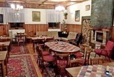 Společenská místnost nabízí večerní posezení