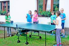 Stolní tenis milují děti i dospělí.